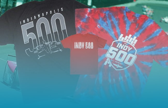 The History of Indy 500 T-Shirts