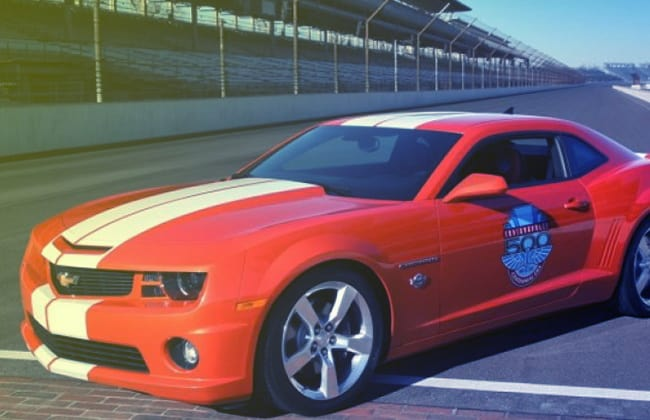 Indy 500 Camaro: List of the Official Cars at the Race Track