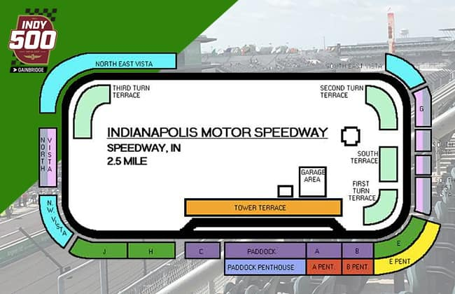 Best Indy 500 Seating Chart