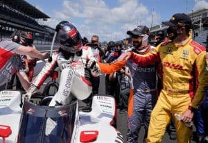 Marco Andretti wins 2020 Indy 500 Pole position